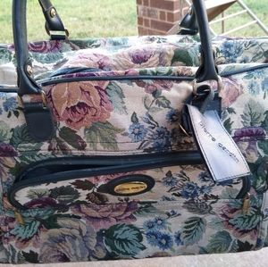 Pierre Cardin floral Tapstery bag